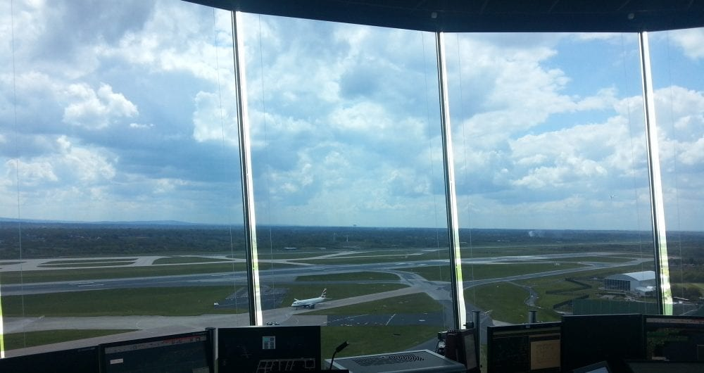Photo - SOLASOLV in air traffic control tower