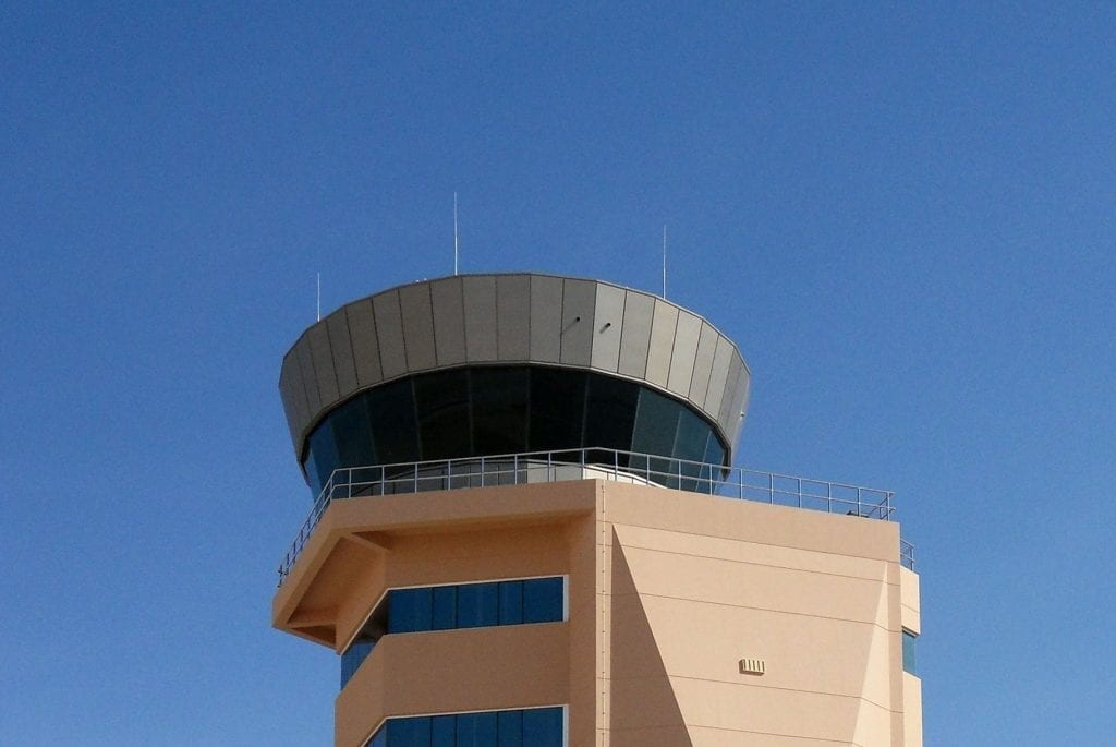 Air Traffic Control ATC sun blinds