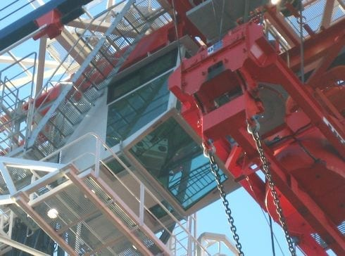 Photo - Port of Tyne Gantry Crane Cabin