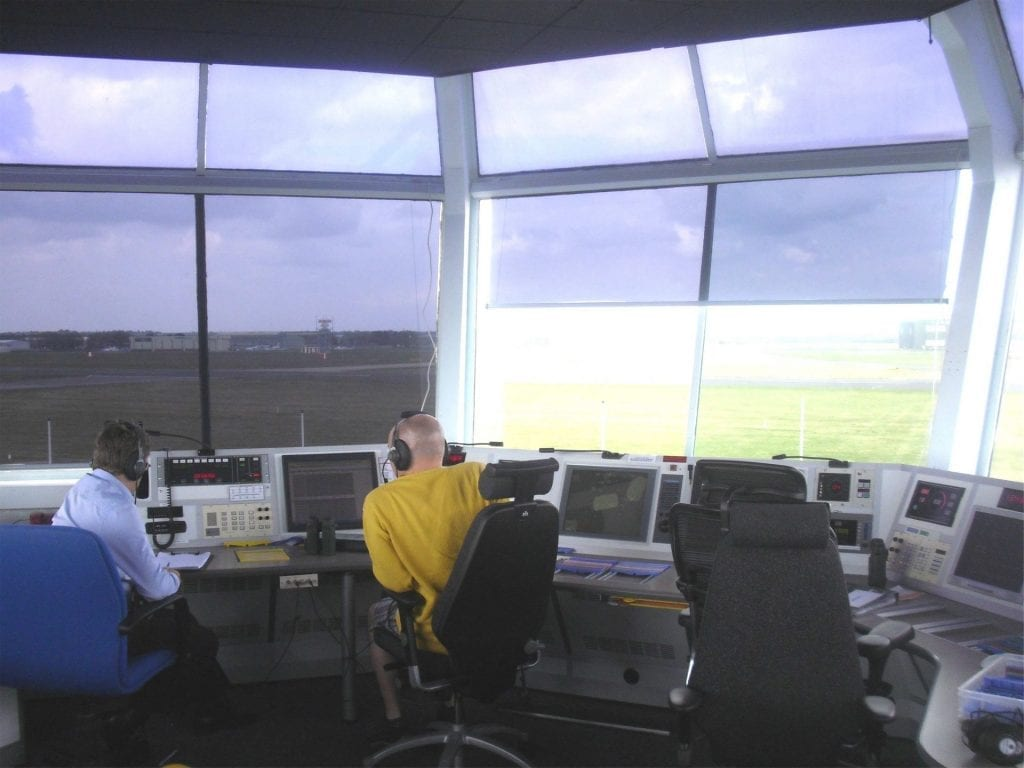 inside ATC Tower photo