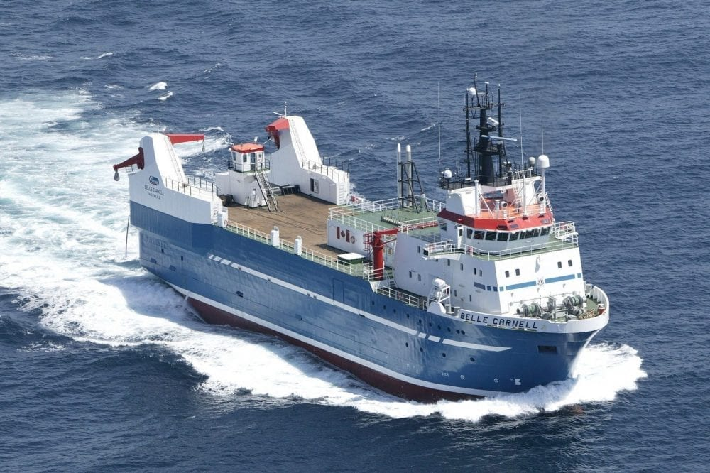 Belle Carnell ship photo