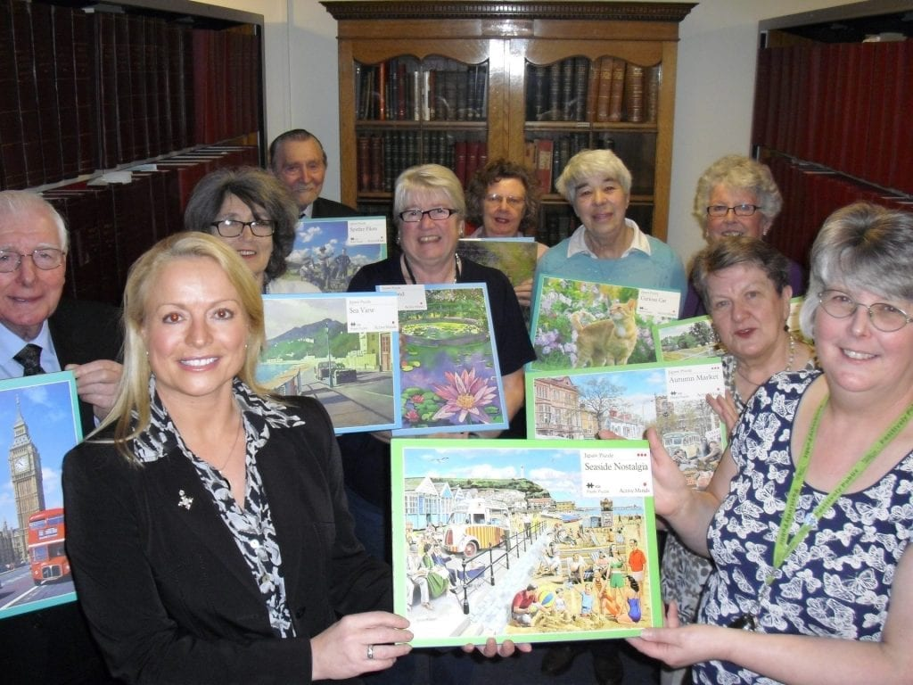 Dementia Jigsaws Presentation photo