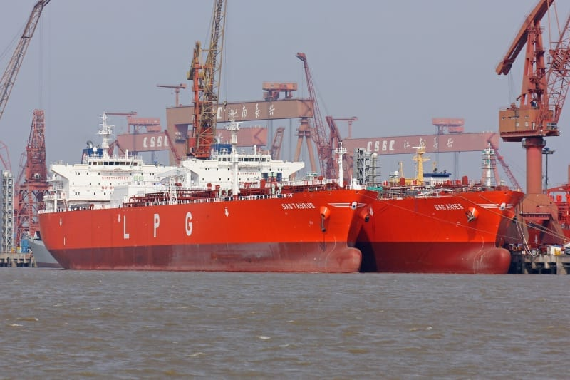 Gas Taurus and Aries ship photos