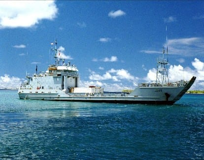 Photo showing LCU-2000 ship