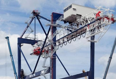 Port of Tyne Gantry Crane photo