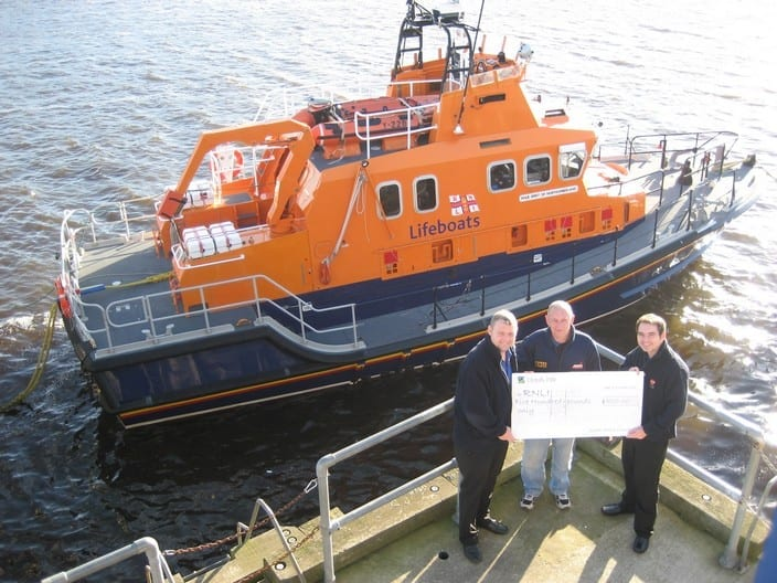 RNLI Christmas 2013 Donation photo