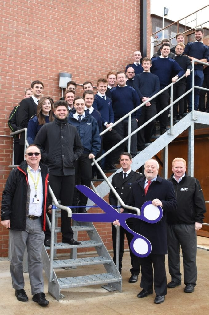 South Shields Marine School Enclosed Spaces Training Building Opening photo