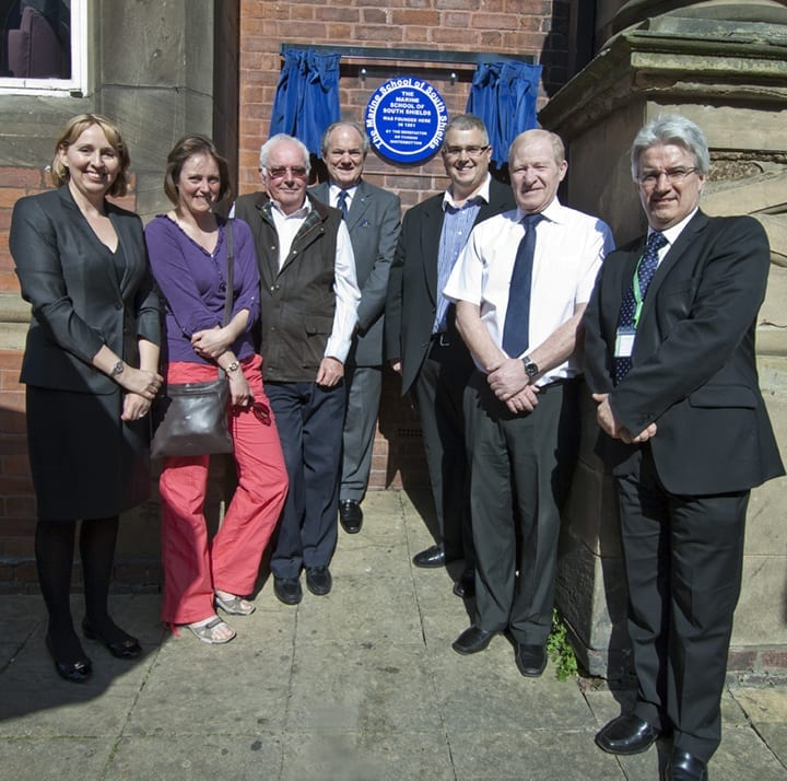STC blue plaque ceremony photo