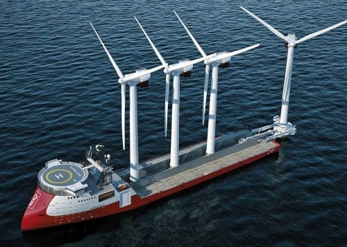 Sealion Shipping Windlifter Vessel photo