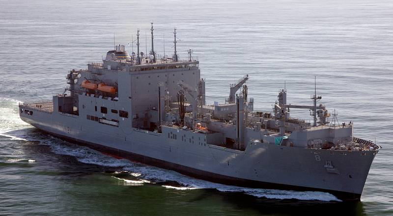Photo showing USNS Wally Schirra