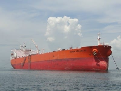 Photo showing Bunga Kelana 10 ship