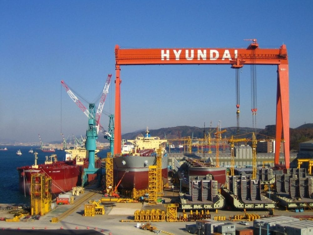 Hyundai Shipyard photo
