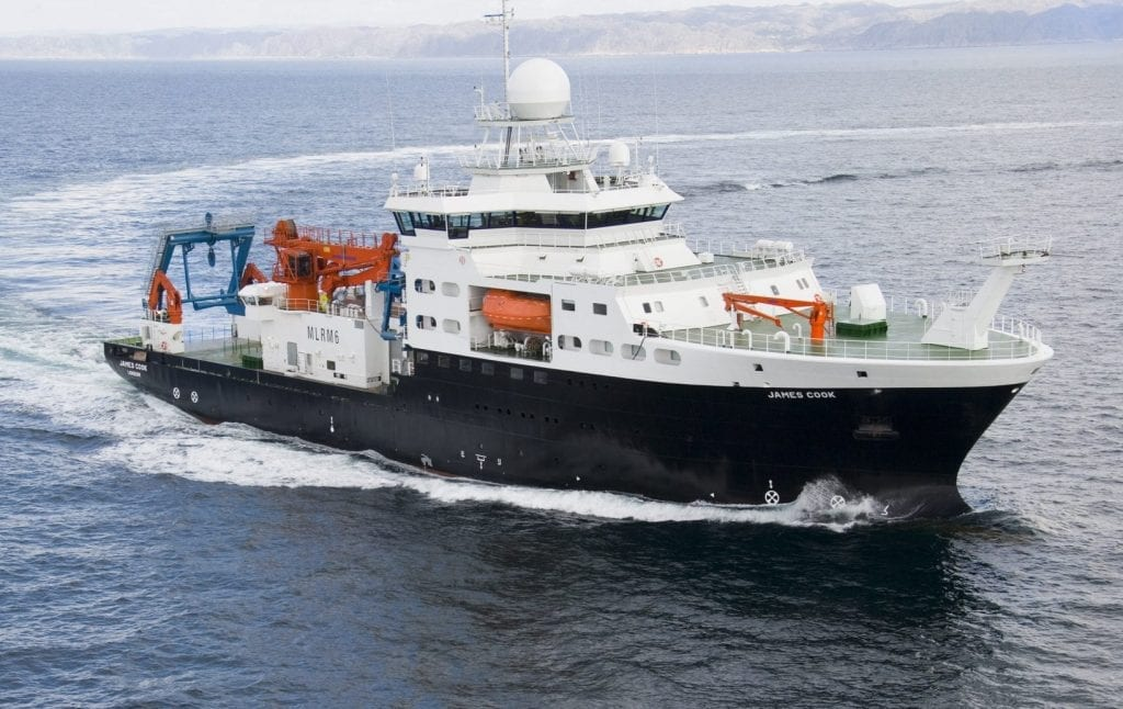 RSS James Cook ship photo