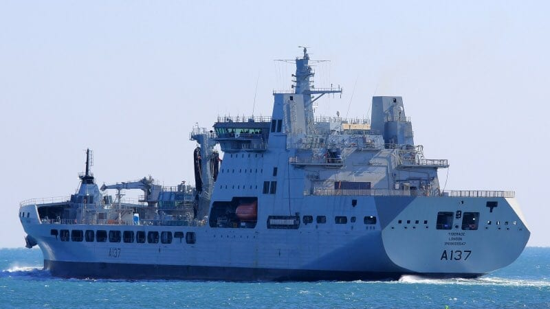 RFA Tiderace ship photo