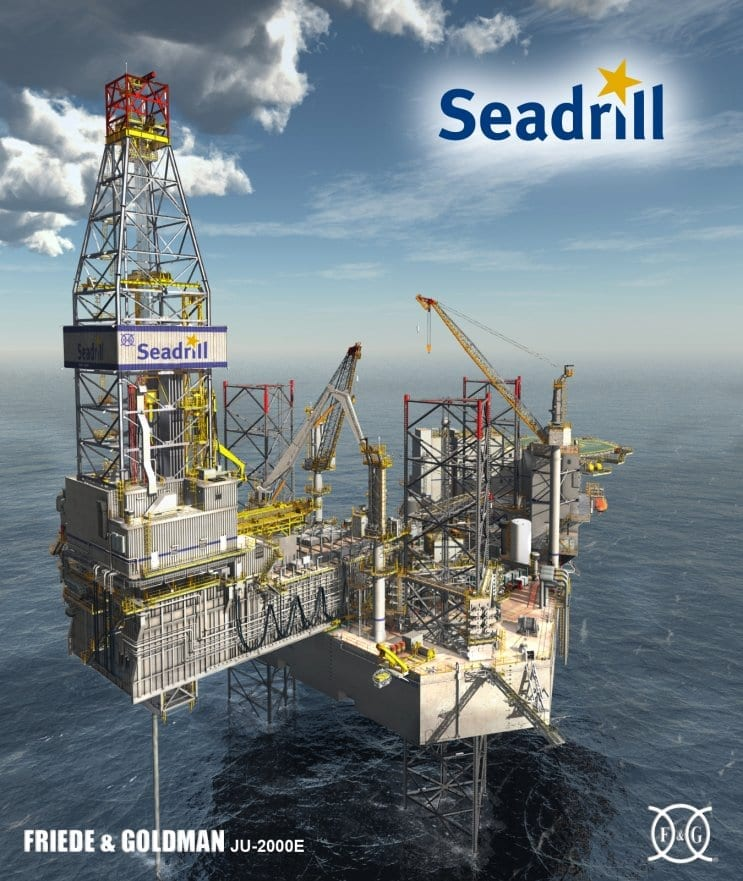 Seadrill West Telesto rig photo