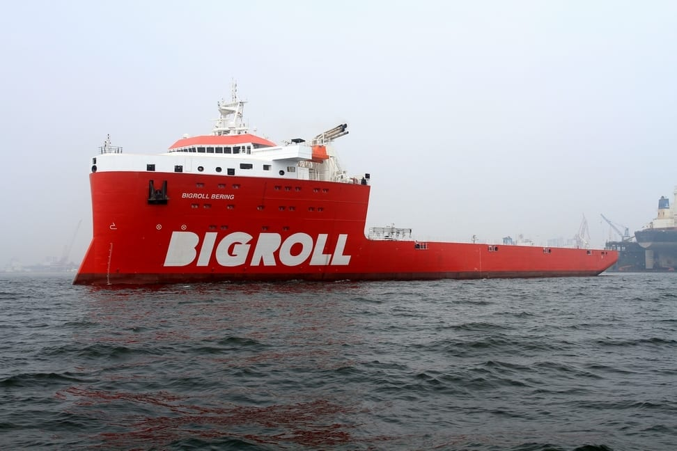 Photo of the Bering BigRoll ship