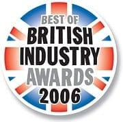 Best of British Industry Awards 2006 Logo