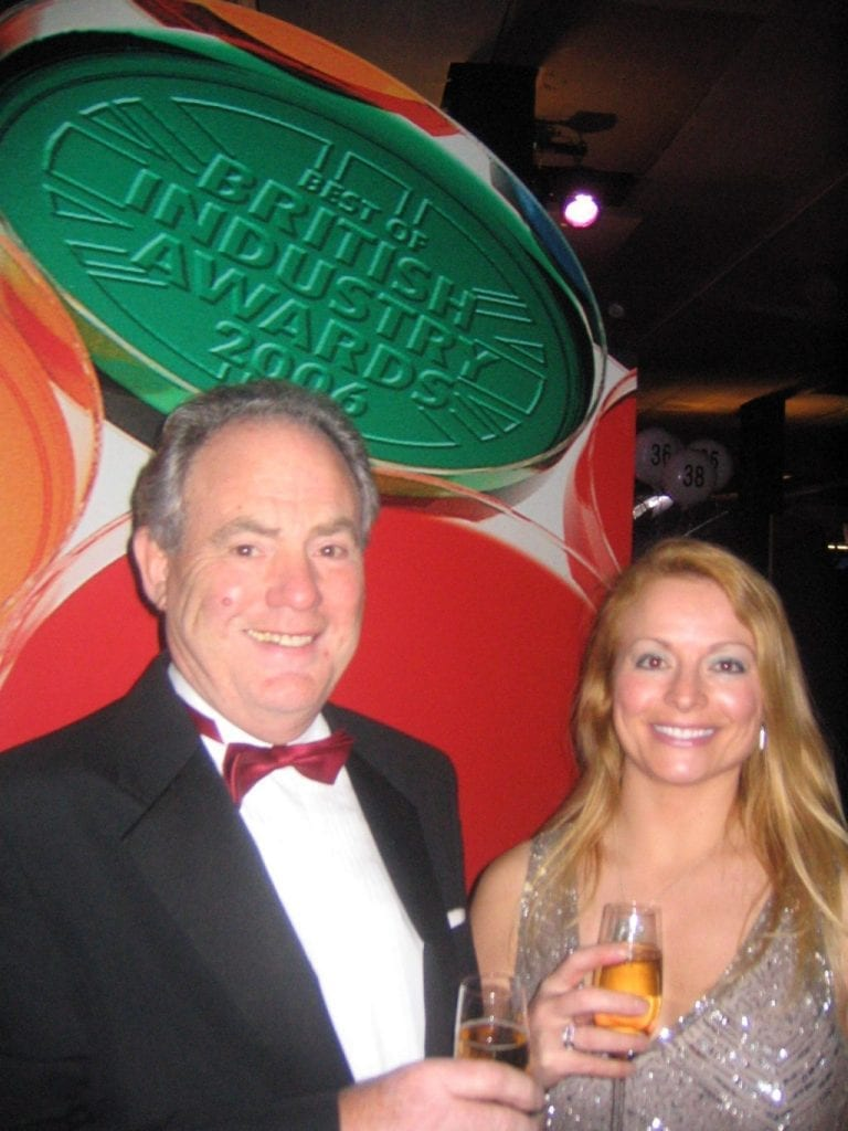John and Julie Lightfoot - Best of British Industry Awards 2006