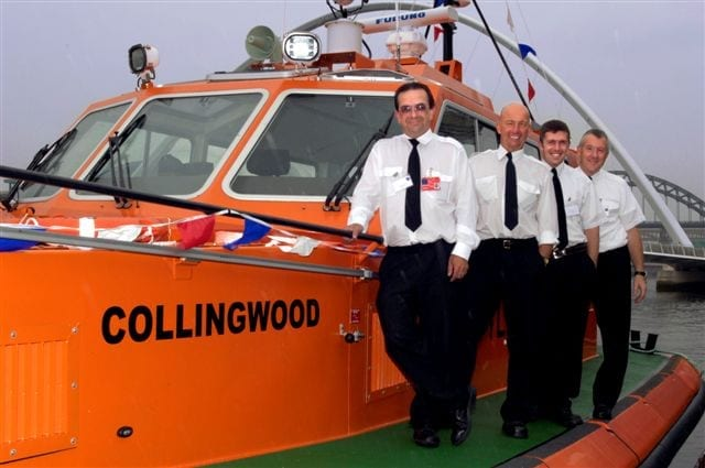 Photo showing the Collingwood Crew
