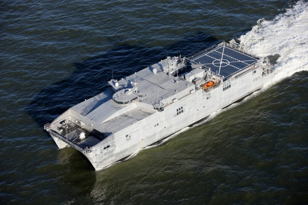 Photo of the USNS YUMA ship