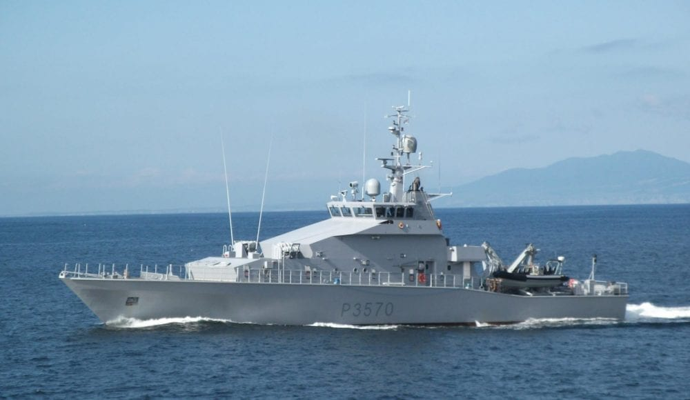Photo of the HMNZS TAUPO Ship