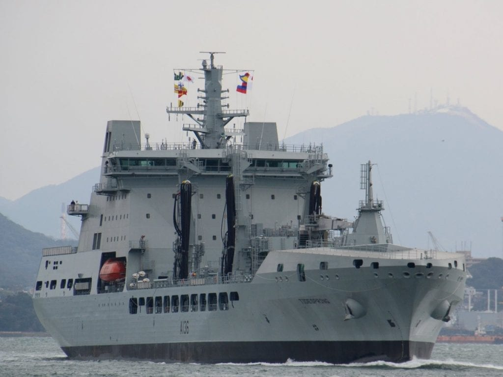 Photo of the RFA Tidespring A 136 Ship