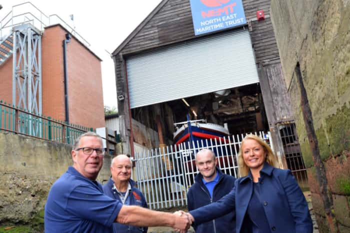 North East Maritime Trust Donation