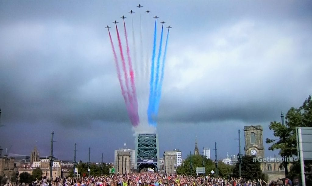Great North Run 2018 - Red Arrows